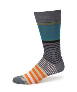 Paul Smith | Striped Woven Socks
