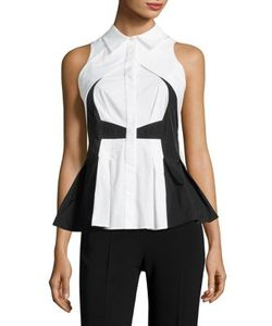 Antonio Berardi | Cotton Button-Front Blouse