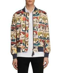Burberry | Reclining Figure-Printed Bomber Jacket