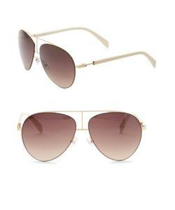 Balmain | 60mm Aviator Sunglasses