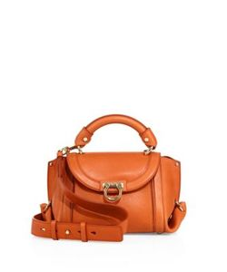 Salvatore Ferragamo | Suzanna Small Leather Top Handle Bag