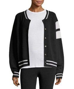 Zoe Jordan | Edison Cashmere Wool Bomber Jacket