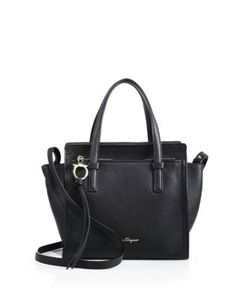 Salvatore Ferragamo | Amy Mini Pebbled Leather Tote