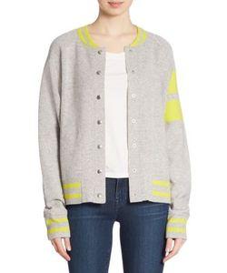 Zoe Jordan | Edison Wool Cashmere Bomber Jacket
