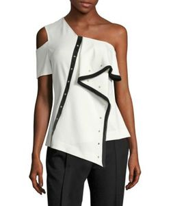 Jason Wu | Asymmetric Grommet Top