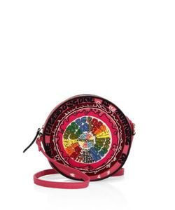 Olympia Le-Tan | Turn On Tune In Drop Out Kaleidoscope Dizzie Crossbody Bag