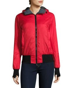 Canada Goose | Dore Hooded Down Bomber Jacket