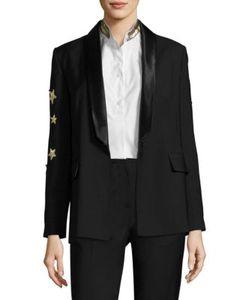Each X Other | Star Wool Tuxedo Jacket