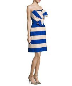 Delpozo | Strapless Bow Dress