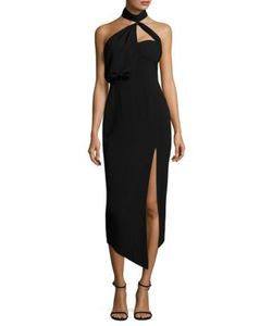 Misha Collection | Triviata High Neck Dress