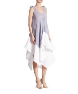 Antonio Berardi | Sleeveless Silk Dress