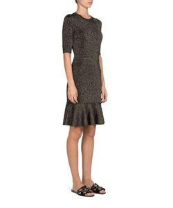 Lanvin | Flounce-Hem Dress