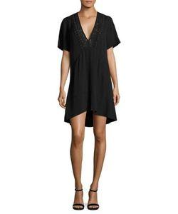 A.L.C. | Joelle Lace-Up Silk Dress