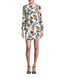 Tibi | Gothic Silk Dress