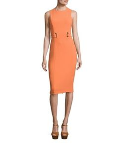 Michael Kors Collection | Stretch Wool Dress