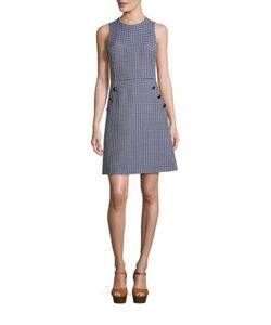 Michael Kors Collection | Sleeveless Gingham Dress