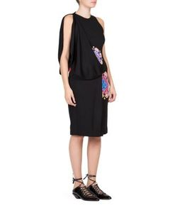 Givenchy | Mandala Printed Jersey Dress