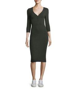 L'agence | Aurora Henley Dress