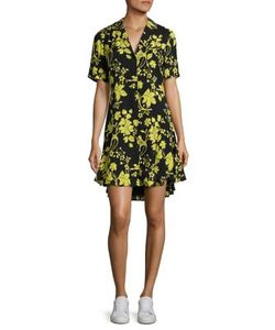 A.L.C. | Kayden Print Silk Shirtdress