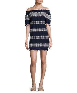 Lemlem | Tabtab Striped Off-The-Shoulder Dress