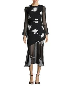 Prabal Gurung | -Print Silk Dress
