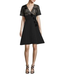 Prabal Gurung | Embellished Fit Flare Dress