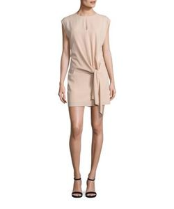 Tibi | Savanna Crepe Tie Dress