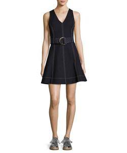 Diane von Furstenberg | Belted Fit--Flare Dress
