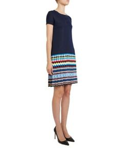 Mary Katrantzou | Thalia Knit Print Jacquard Dress