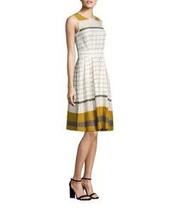 Piazza Sempione | Sleeveless Striped Dress