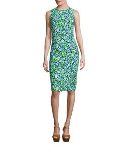 Michael Kors Collection | Printed Dress
