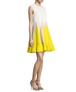 Delpozo | Sleeveless Colorblock Dress