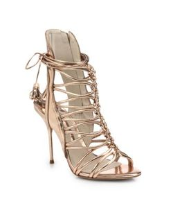 Sophia Webster | Lacey Leather Strappy Sandals