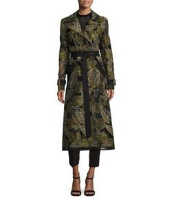 Yigal Azrouel | Leaf Trench Coat