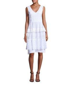 Talbot Runhof | Lace Dress