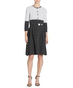 Carolina Herrera | Striped Wool Silk Cardigan