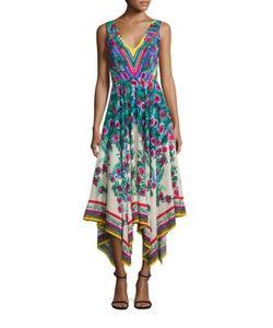 Saloni   Zuri Silk Dress
