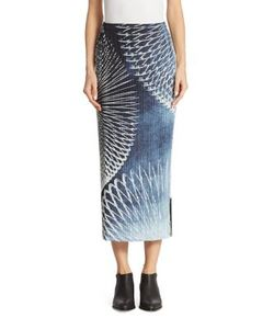 Pleats Please By Issey Miyake | Motion Printed Skirt