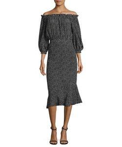 Saloni | Grace Silk Dress