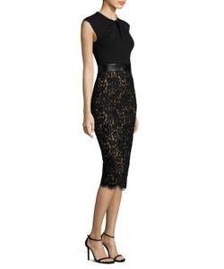 Michael Kors Collection | Lace Sheath Dress