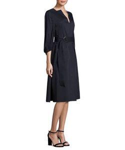 Tibi | Solid Poplin Dress