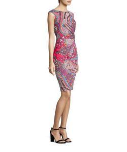 Etro | Paisley Faux-Wrap Dress