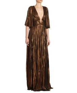 J. Mendel | Pleated Silk Gown