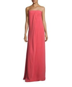 Derek Lam | Draped Strapless Gown