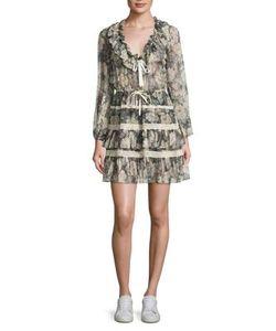 Zimmermann | Bowerbird Draw Frill Silk Dress