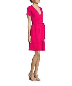 Piazza Sempione | Short-Sleeve Wrap Dress