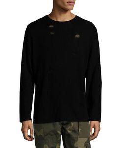Ovadia & Sons | Drop Needle Wool Sweater
