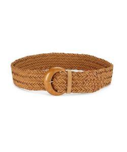Ralph Lauren Collection | Braided Leather Belt