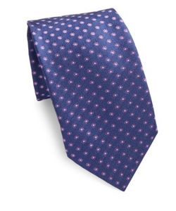 Corneliani   Patterned Silk Tie