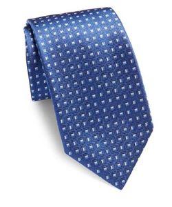 Corneliani   Textured Silk Tie